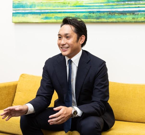株式会社アクシアカンパニー  代表取締役社長CEO 木戸 新之助 写真2